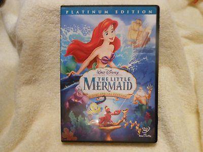 The Little Mermaid (DVD, 2006, 2-Disc, Platinum Edition) **LIKE NEW** GENUINE