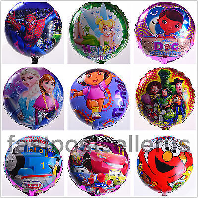 """10 Pieces 18"""" Frozen MYLAR Foil Balloons Birthday Party Decoration Value @$0.65"""