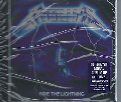 METALLICA-RIDE THE LIGHTNING-84-USA-BLACKENED RECORDS BLCKND004-2-CD-NEW-SEALED-