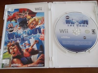 Wii (abc) WIPEOUT THE GAME~ 2010 NINTENDO~ GENTLY USED