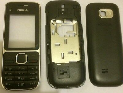 Replacement Housing For A Nokia C2-01 Fascia Cover Black