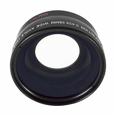Wide-Angle/Fish-Eye Kit for Olympus E600 E420 58mm USA SELLER SHIPS FAST