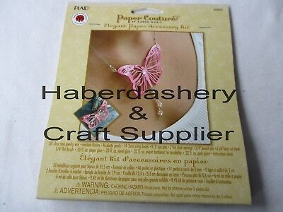 Plaid Jewelry Paper Accessory Kit Diy Butterfly Set 80849
