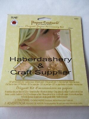 Plaid Jewelry Paper Accessory Kit Diy Daisies 80857