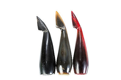 Horn Nock For Longbows: 1 Pair Of Two Different Pieces