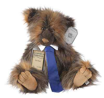 """Silver Tag Bears Collectable 4 Limited Edition Bears by Suki - Tyler Bear 18.5"""""""