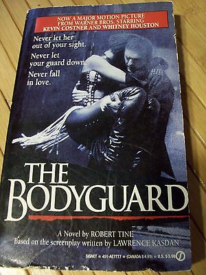 The Bodyguard by  Robert Tine (1992, Paperback) Movie tie in, Whitney Houston