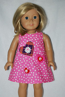 """Doll clothes fit 18"""" American Girl Dolls handmade in the USA. by Grandma"""