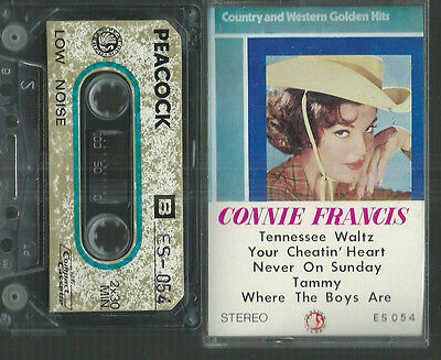MC Musik-Kassette : Connie Francis - Golden hits (Country & Western)