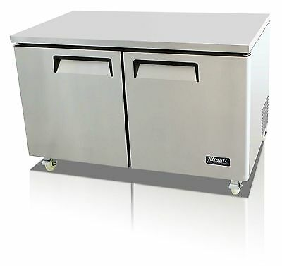 "Migali 2 Door 60"" Under Counter Freezer - C-U60F !! Free Shipping !!!"