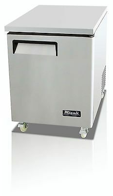 Migali C-U27F Commercial Under Counter Freezer 1 Door, Free Shipping !!!