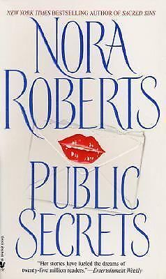 Public Secrets by Nora Roberts, Roberts, Nora, Acceptable Book