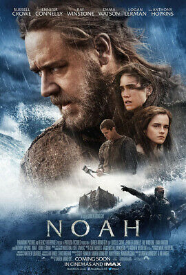 NOAH MOVIE POSTER 2 Sided ORIGINAL INTL FINAL 27x40 RUSSELL CROWE
