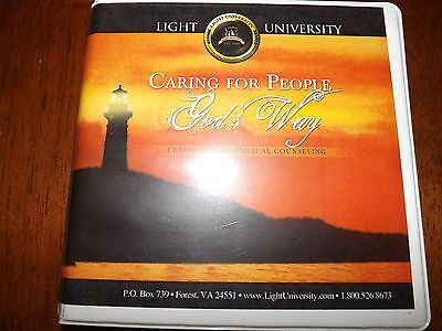 CARING FOR PEOPLE GOD'S WAY BIBLICAL COUNSELING COURSE 15 DVD SET