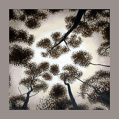 art painting Tree Forest Woods canvas  Aboriginal  print Australia