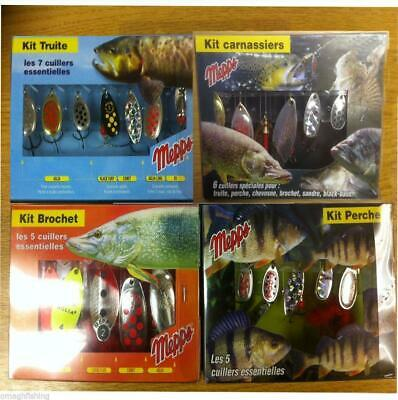 Mepps Lure Kits/Selections*Trout,Pike,Perch,Predator* Aglia Lusox Comet XD Lures