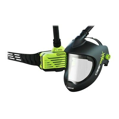 Optrel Air Fed G300 Grinding Helmet With E3000 PAPR Back Pack