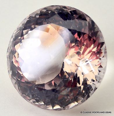 Beryl Morganite Faceted Gemstone Beryll Morganit Facettierter Edelstein 15.40 ct