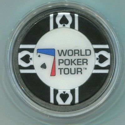 WORLD POKER TOUR WPT Card Guard Protector - Black