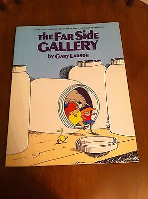 THE FAR SIDE GALLERY by GARY LARSON 1987 Newspaper Comic Collection Book PB SC
