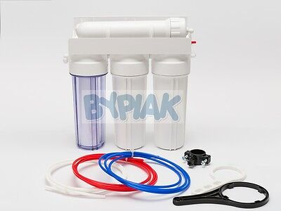 4 Stage RO Reverse Osmosis Filter 50/75/100/150GPD Aquarium Tropical Window Clng