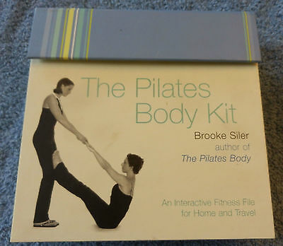 Pilates Body Kit by Brooke Silver NEW CDs Cards Fitness File