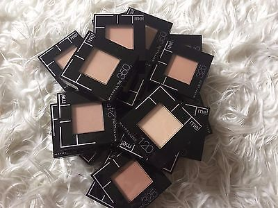 Lot of 18 MAYBELLINE FIT ME! PRESSED POWDER Shades 120 245, 325, 350 Free Ship