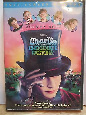 Charlie and the Chocolate Factory (DVD, 2005, Full Screen Edition)