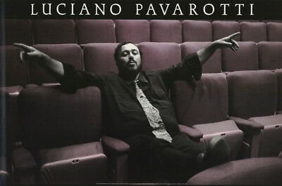 Poster : Music : Opera: Luciano Pavarotti   -  Free Shipping ! #1515   Rc20 C