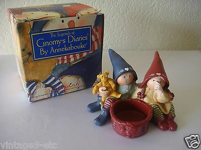 "The Legends of GNOMY'S Diaries by ANNEKABOUKE ""Fortune Fairy Candle Holder"""