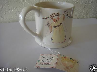 "New Gnomy's Diaries by Annekabouke Angel of the Month ""June"" Lg Coffee Mug!"