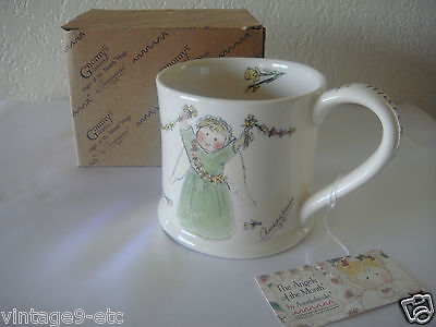"New Gnomy's Diaries by Annekabouke Angel of the Month ""March"" Lg Coffee Mug!"