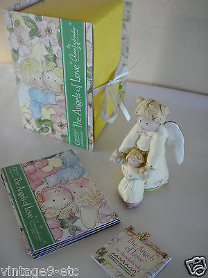"GNOMY'S DIARIES Angels of Love by ANNEKABOUKE ""My Mom Is An Angel"" Figurine"