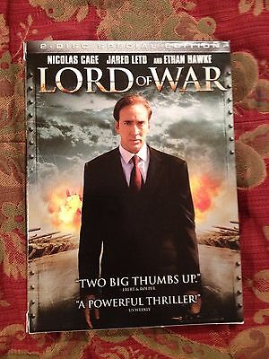 Lord of War (DVD, 2006, 2-Disc Set, Special Edition) Cage Hawke Leto