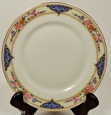 KPM FINE CHINA KPM7 GERMANY DISHES 3 SALAD  - SIDE - LUNCHEON PLATES 7 1/2""