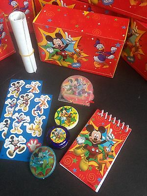 Mickey Mouse Clubhouse Birthday Gift Box - Box Includes 8 Disney Toys