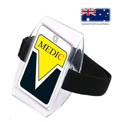 10 x Arm Band ID Holders - New Release - Posted with Tracking.