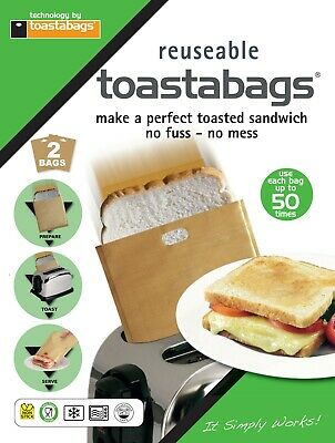 2 X Toastabags Lite - 50 Use - Great Value - Free P&p For Uk Delivery