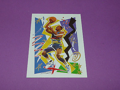 Michael Adams Denver Nuggets W. Rieser 1990 Nba Hoops Basketball Card