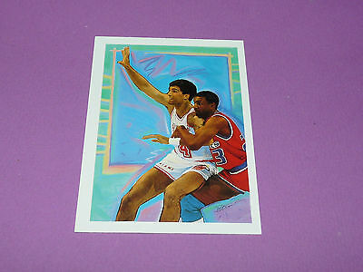 Rony Seikaly Miami Heat K. Petrauskas 1990 Nba Hoops Basketball Card