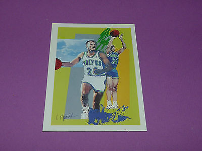 Pooh Richardson Minnesota Timberwolves C. Marsh 1990 Nba Hoops Basketball Card