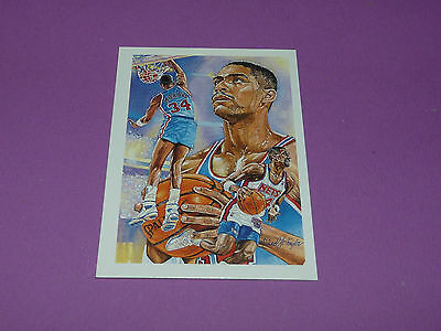 Chris Morris New Jersey Nets M.j. Taylor 1990 Nba Hoops Basketball Card