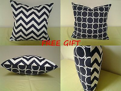 Premier Prints Green Dots /& Zig Zag  Decorative Pillow Covers /%100 cotton.