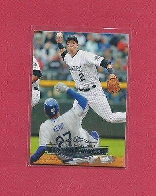 2011 Topps Marquee Troy Tulowitzki #91 , Rockies