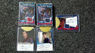 2012 The Amazing Spiderman Movie Master Set w/ Variants, Autographs  Rittenhouse