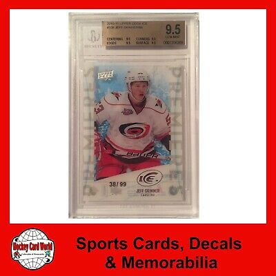 (HCW) 2010-11 Upper Deck Ice JEFF SKINNER 38/99 RC BGS 9.5 UD Rookie Premiers
