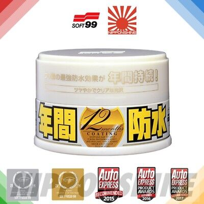 Soft99 Fusso coat Light PTFE Car Wax NO IMPORT DUTY! JDM FAST NEXT DAY delivery!