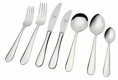 NEW STANLEY ROGERS ALBANY 42 PIECE CUTLERY SET Fork Knife Spoon Tea Cafe Dinner