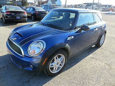Mini : Cooper S 2dr Cpe S 08 bmw mini cooper s hatchback 6 speed sp manual blk leather xenon 4 cyl clean