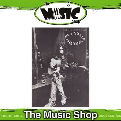 New Neil Young Greatest Hits Strum & Sing Guitar Music Book - Chords & Lyrics